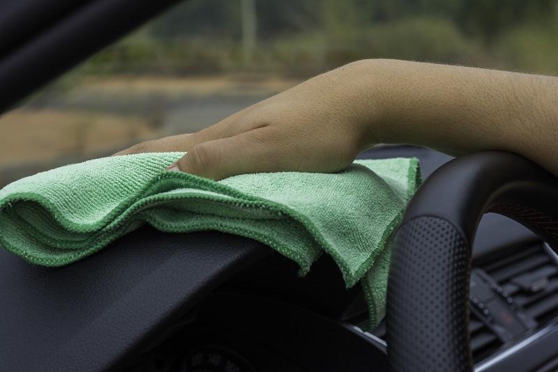 Pulizia automobile panno microfibra